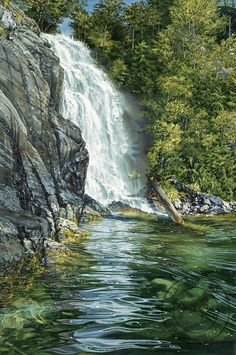 Cassel-Falls.png Watercolors by Carol Evans