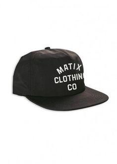 #Matix MCC #Hat - Black