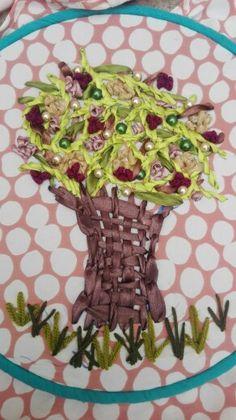 Ambroidered tree