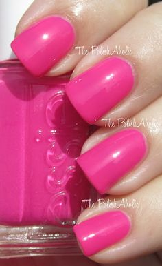 Essie Lights...bright pink for Summer