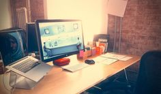 Designers you Should Know and their Workspaces || repinned by www.fabrykabarw.eu