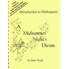 Introduction to Shakespeare's A Midsummer Night's Dream