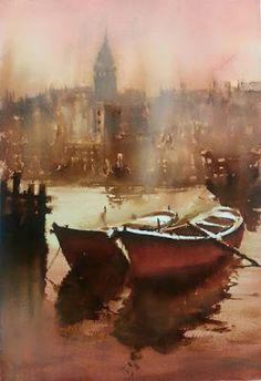 Burhan Ozer watercolor artist -The Watercolour Log