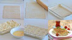 Nasıl olmuş da bu böreği şimdiye kadar yapmamışım diye hayretler içerisinde kaldım denediğim zaman.O kadar pratik ve sonuç o kadar mükemmel ki,bir kere deneyince vazgeçilmezl… Pasta Recipes, Dessert Recipes, Cooking Recipes, Desserts, Bread And Pastries, Kitchen Art, Beautiful Cakes, Food Photo, Food And Drink
