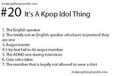 The first group I've thought is BTS XD 1 Joonie, 2 Taetae, 3 Yoongi, 4 EommaJin, 5 Hobi, 6 Chimchim, 7 Kookie XD
