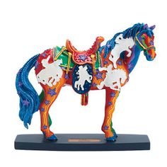A Horse of a Different Color ...I need this one for my collection of Painted Ponies