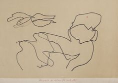 "Geta Bratescu - ""Drawings with the Eyes Closed,"" 2006, drawing on paper, 21 x 32 cm. Photo by Stefan Sava. Image courtesy of the artist, Ivan Gallery, Bucharest, Galerie Barbara Weiss, Berlin."