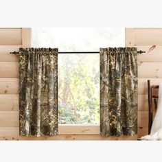 Realtree Xtra Tier Panel Curtains