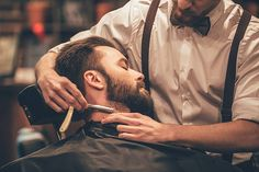 Free man grooming Images, Pictures, and Royalty-Free Stock Photos Barber Logo, Barber Tattoo, Barber Accessories, Massage Relaxant, Men Spa, Barber Shop Decor, Straight Razor Shaving, Hair Trim, Hair And Beard Styles