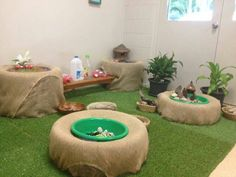 "Hessian-covered tyres at Penguin Childcare ("",) Love the tire idea. The artifici… – candi rittenhouse Hessian-covered tyres at Penguin Childcare ("",) Love the tire idea. Reggio Emilia, Classroom Setting, Classroom Decor, Reggio Children, Children Play, Childcare Rooms, Childcare Environments, Preschool Rooms, Small World Play"