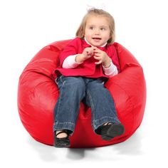 Vinyl Bean Bag Chairs for Kids