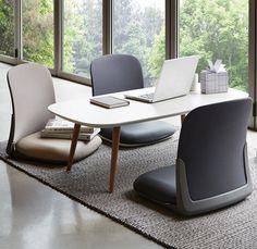 Ergonomic Floor Chair Back Support Low Tatami Meditation Legless | Home & Garden, Furniture, Chairs | eBay!