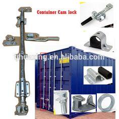 Full set of Galvanized Cargo container door locking system