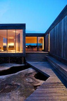 Cabin Inside-Out, Havaler Islands, Norway