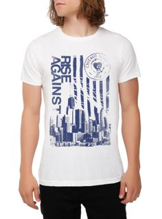 343e37a61f2b Rise Against Chicago T-shirt 5 Seconds Of Summer