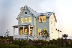 Looking for the best house plans? Check out the Port Royal Coastal Cottage plan from Southern Living. Open Floor House Plans, Best House Plans, Dream House Plans, Small House Plans, Beach Cottage Style, Beach Cottage Decor, Coastal Cottage, Cozy Cottage, Beach House