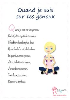When I'm on your knees Cadeau Parents, Best Freinds, Craft Presents, Teaching French, Mothers Day Crafts, Mother And Father, Learn French, Smurfs, Gift Tags