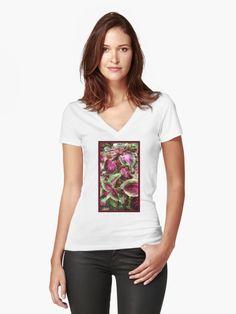 """Purple & Green Coleus Leaves"" by Courtney Hatcher. Fitted v-neck t-shirt. Nature photography, colorful photography, texture photography, perspective photography, closeup photography. Beautiful, vibrant, plants. Summer gardens. White v-neck t-shirt featuring colorful nature photography. Women's fashion, women's apparel, women's casual clothing, trendy t-shirt, functional art, wearable art. ©Courtney Hatcher All Rights Reserved My T Shirt, V Neck T Shirt, Pink Galaxy, Galaxy Art, Striped Background, Purple Glitter, Grafik Design, Green Stripes, Halloween"