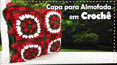 CAPA PARA ALMOFADA NATALINA EM CROCHÊ com Simoni Figueiredo - Programa A...