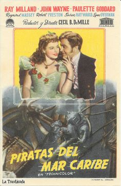 Piratas del Mar Caribe - Programa de Cine
