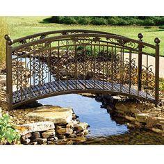 Sunjoy Garden Bridge at Sam's Club- have to visit for price