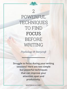 Do you struggle to focus during your writing sessions? Here are two techniques you can try to improve your attention span and increase…