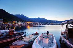 Greece: Harbour in Skala Potamia, Thassos