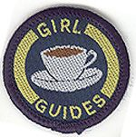 Vintage Girl Guide badge - Hostess