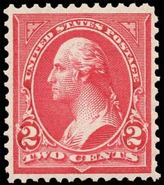 most valuable Rare American u.s. Coins | Scott # 279B - Double line USPS wmk. - 1897