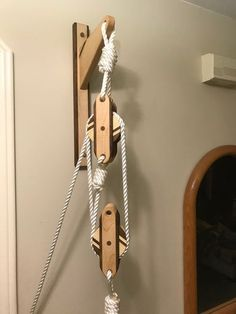 """Set of 3 Hooks 11 1//2/"""" Drop Forged Maritime Navy Hooks for Block and Tackle"""