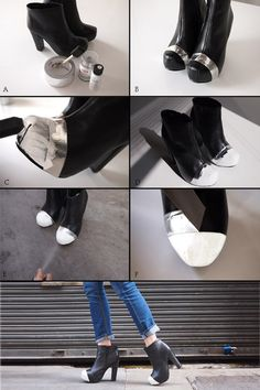 DIY Cap Toe Bootie.... or other shoes!