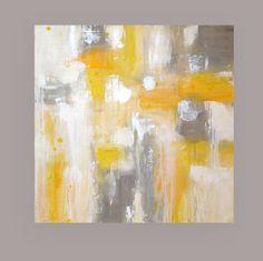 Peinture acrylique abstraite Art sur toile Art par OraBirenbaumArt