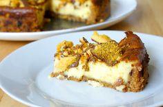 Domestic Sluttery: Gluten Free: Crunchie Cheesecake  http://www.domesticsluttery.com/2012/08/gluten-free-crunchie-cheesecake.html#
