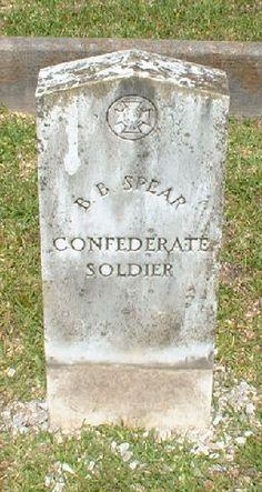 B. B. Spear by civil war grave sites, via Flickr