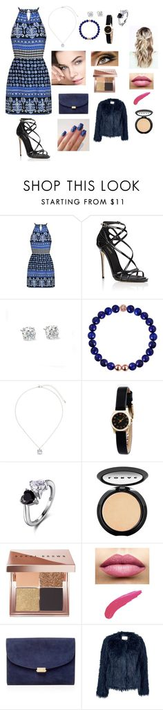"""""""night out with friend and family"""" by sarah4ever123 ❤ liked on Polyvore featuring Dolce&Gabbana, Dorothy Perkins, Marc by Marc Jacobs, LORAC, Bobbi Brown Cosmetics, TheBalm, Mansur Gavriel and Samsøe & Samsøe"""