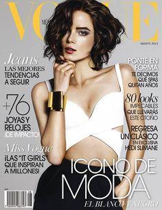 Anna De Rijk - Vogue Magazine Cover [Mexico] (August 2013)