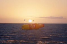 Norwegian version of a message in a bottle. A 26 foot long soda sets sail with a case of the drink for whoever finds it