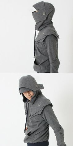 Hooded ninja! Warning: For guys with more personality.