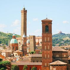 Fantastic view of Bologna