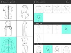 Fashion Design FlatSketch by Laura Paez Castaneda