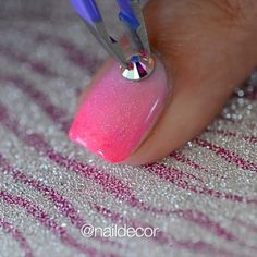 """48.5k Likes, 769 Comments - Manal Shaikh (@naildecor) on Instagram: """"PAAAANK🎀✨ cute & girly 💖 I used models own- bubble gum, sephora- seeing pink elephants, Orly-…"""""""