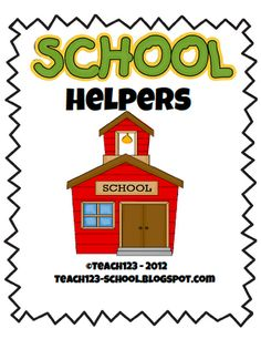 FREE Tips for having parent helpers plus free printables