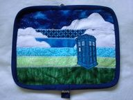 doctor who wallet for craftster swap! so cool