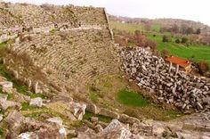 Hellenistische Stadt Selge / Altınkaya bei Manavgat