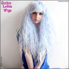 rock star wigs blueish fade out