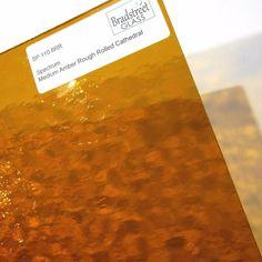 Stained Glass Spectrum Sheet Mimosa Pearl Clear Lemon Orange