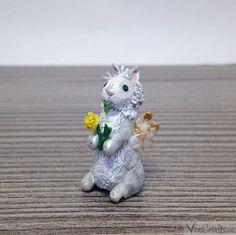 Super Cute, Bird, Etsy, Vintage, Animals, Bunnies, Craft Gifts, Figurine, Schmuck