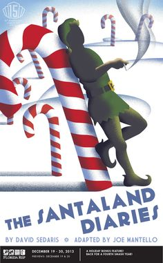 The Santaland Diaries. Florida Repertory Theatre.