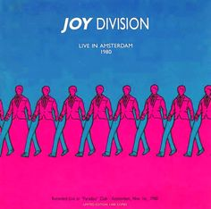 Very cool concert poster from the band joy division in the 1980's
