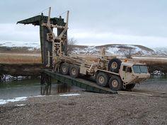 HEMTT Vehicle Launched Sectional Bridge